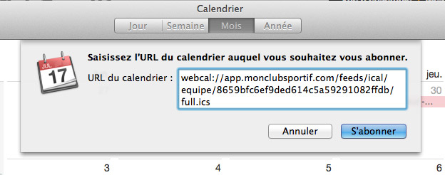 calendrier mac coller webcal-url