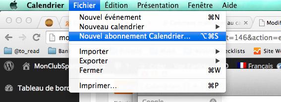calendrier mac new calendar