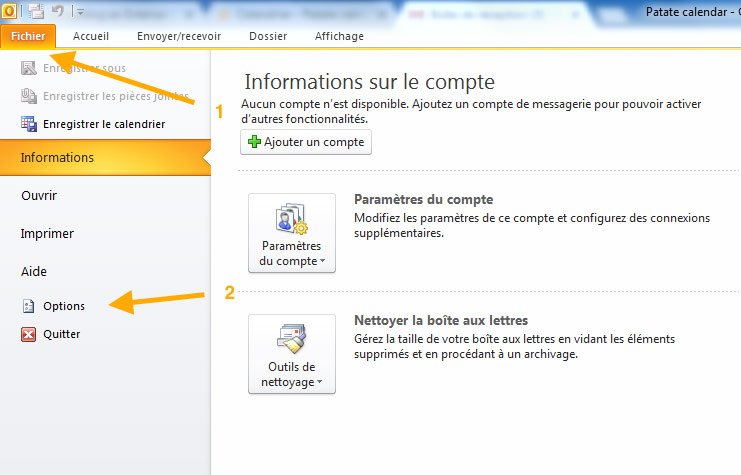 calendrier-gestion-fichier-option-outlook