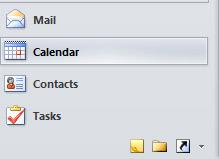 Outlook Calendar Tab