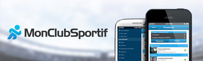 Application web et mobile MonClubSportif