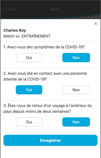 Modifier un questionnaire - covid-19
