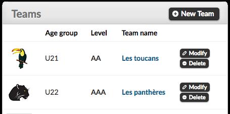 Clubs and associations management via MonClubSportif!