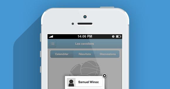 Nouvelle fonctionnalité sur l'application MonClubSportif : Accès partagé d'un membre