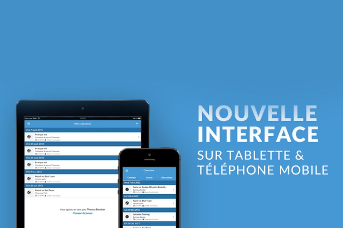 Amélioration des applications mobiles