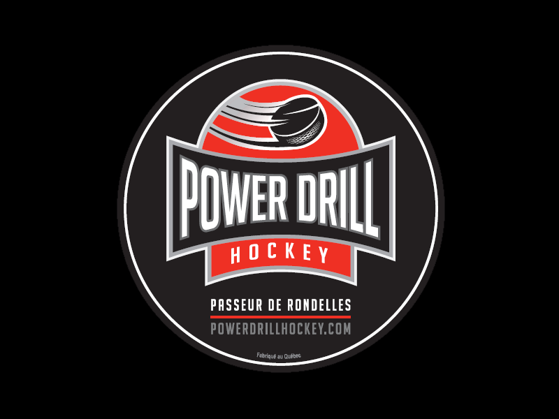 Le Power Drill Hockey,  le coéquipier infatigable