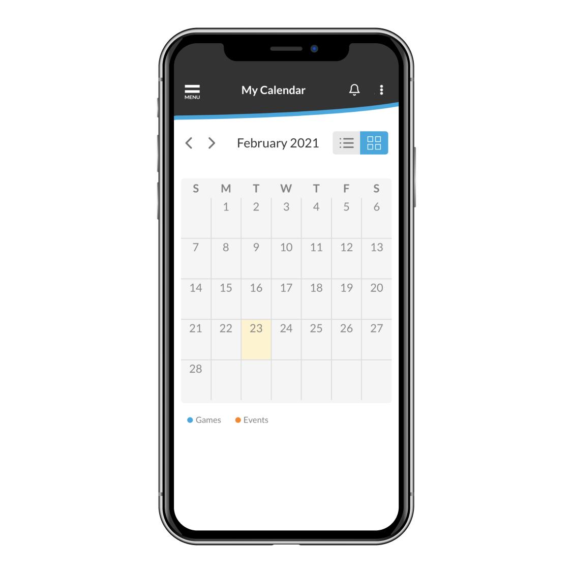 sports team scheduling app