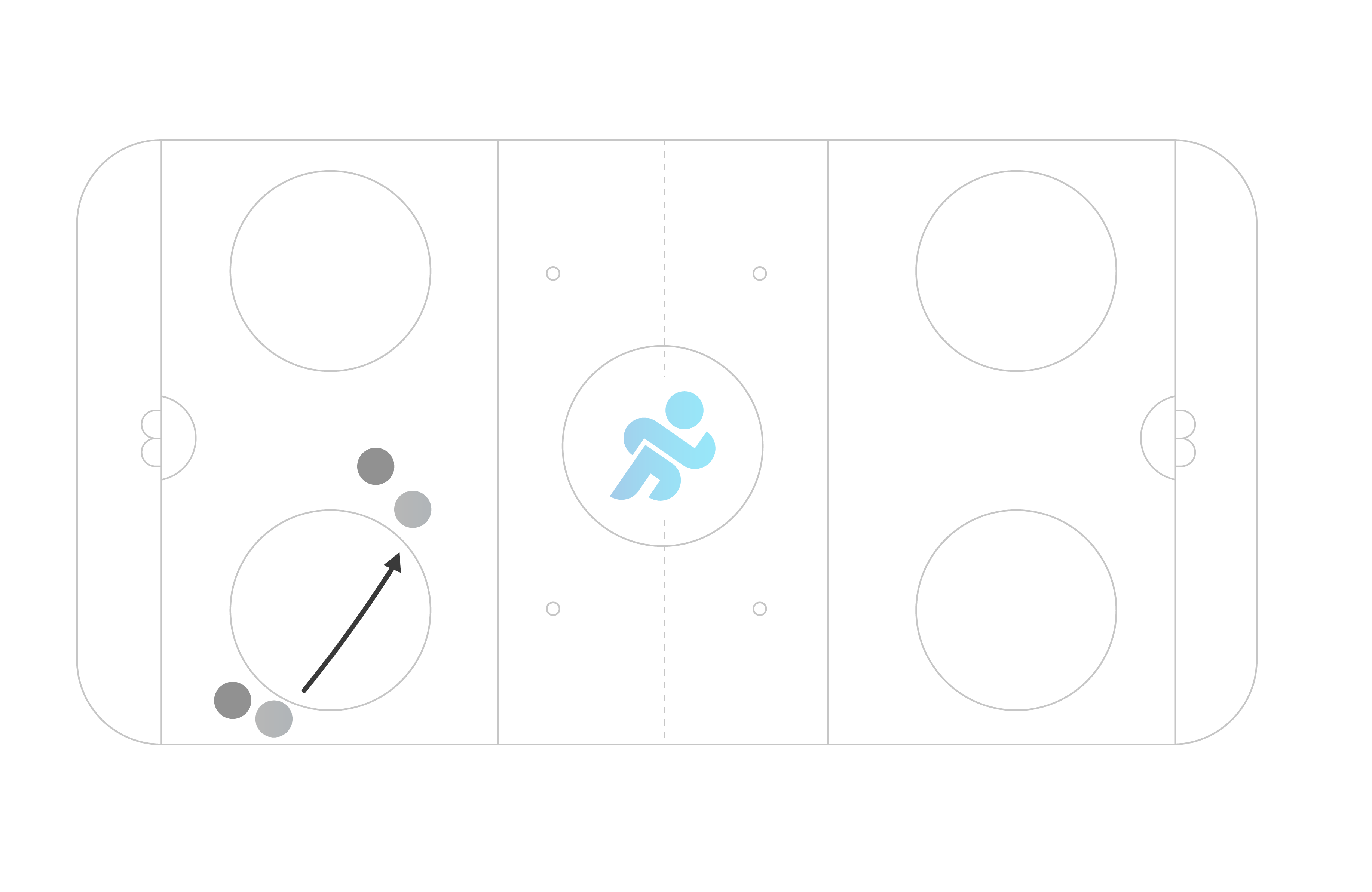 hockey period of game in limited space for kids example