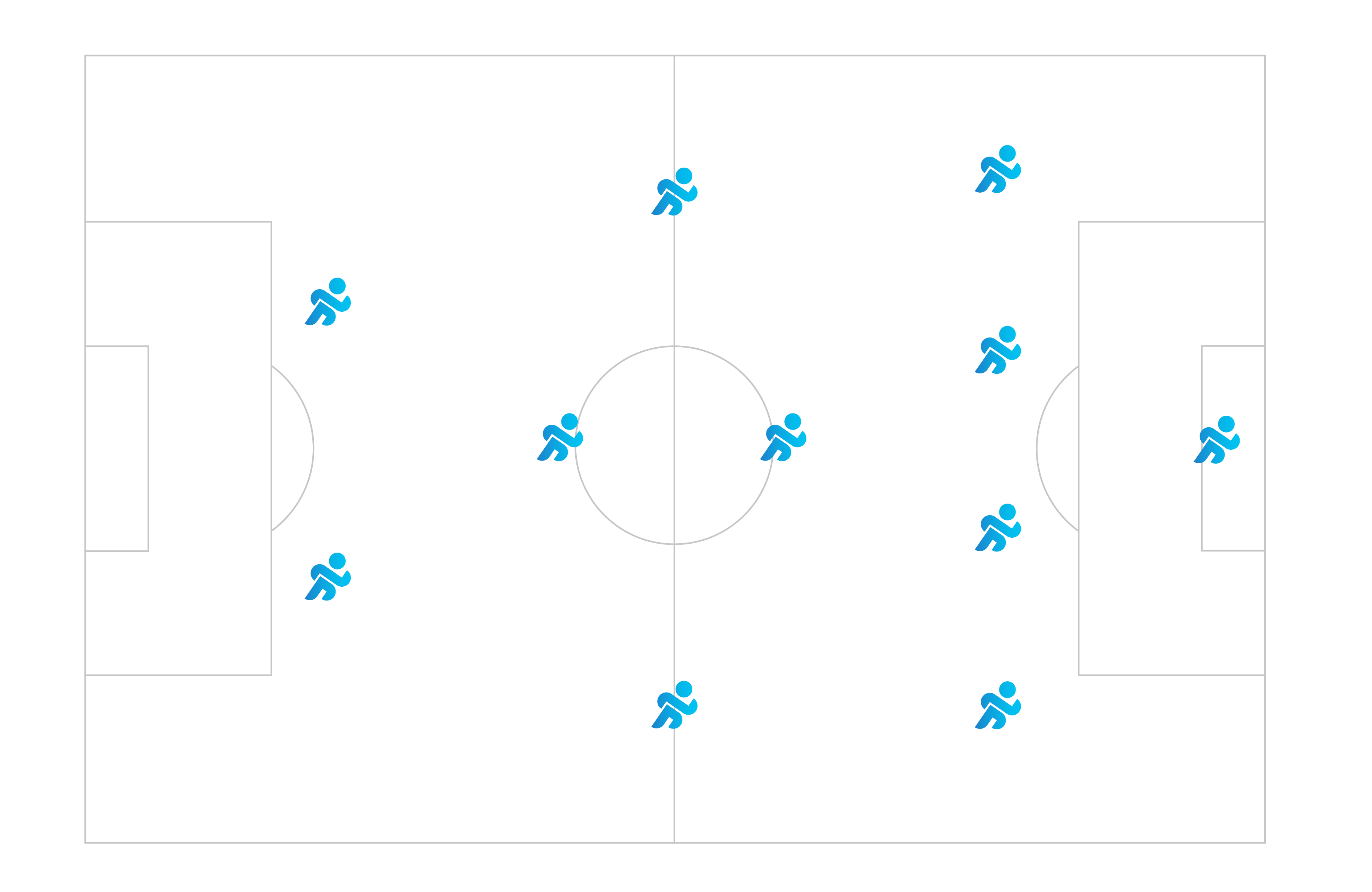 diamond soccer formation for soccer practice tranning