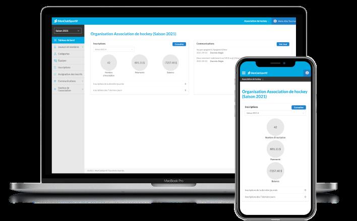 Application Web et mobile de Gestion d'Associations Sportives